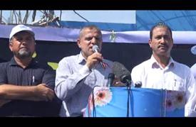 """مسيرة لموظفي وكالة """"أونروا"""" في غزة رفضا لتقليص خدمات الوكالة"""