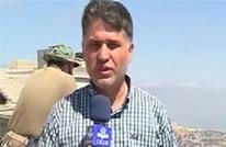 مراسل التلفزيون الإيراني يستعيد وعيه بعد إصابته بسوريا