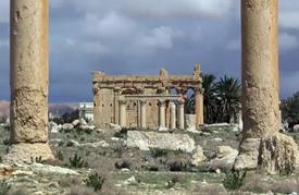 تنظيم الدولة الاسلامية يدمر معبدا شهيرا في تدمر السورية