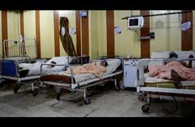 نقص المواد الطبية يضاعف معاناة سكان الغوطة بدمشق