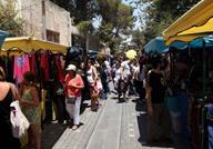 سوق جارا بالأردن للمشغولات اليدوية