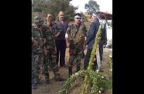 """صور تؤكد إصابة سهيل الحسن """"النمر"""" في معارك سهل الغاب"""