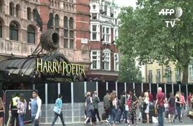 هاري بوتر يسحر لندن في أول مسرحية له