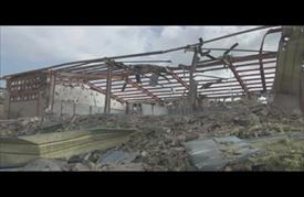 استهداف طيران التحالف العربي معهدا مهنيا للحوثيين في إب