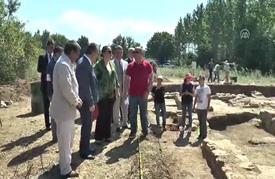 العثور على بقايا قصر يعود للعهد الروماني شمالي تركيا