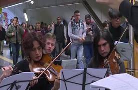 عرض أوبرا في مترو بوينوس ايريس