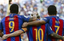 سواريز وميسي يقودان برشلونة لسحق بيتيس بسداسية (فيديو)