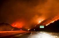 17 ألف رجل إطفاء يشاركون في إخماد حرائق هائلة في أمريكا