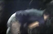 شرطي ينقذ حياة رجل كان على وشك الهلاك (شاهد)