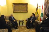 """بروجردي يلتقي """"نصر الله"""" و""""ممثلي الفصائل الفلسطينية"""" بلبنان"""