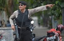 مسلح بسكين اختبأ بين مصلين بكنيسة إندونيسية وهاجم القس