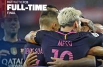 راكيتيتش يقود برشلونة لفوز صعب على بيلباو (فيديو)