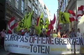 """مظاهرة في النمسا تطالب بـ""""وقف أسلمة"""" البلاد"""