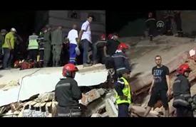 قتيل و19 جريحاً في انهيار مبنى سكني بالدار البيضاء المغربية
