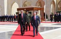 أردوغان والعاهل الأردني يبحثان اتفاقية التجارة الحرة