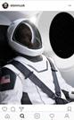 """""""سبايس إكس"""" تكشف عن بزتها الفضائية المستقبلية"""