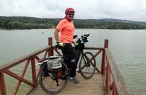 سعودي يصل إلى تركيا على دراجته الهوائية (صور)