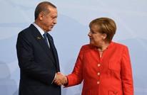 """ميركل وأردوغان يتفقان على """"تعزيز التعاون"""" بين البلدين"""