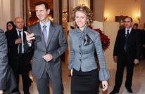 الأسد وزوجته أسماء بريف دمشق عند نقطة عسكرية (شاهد)