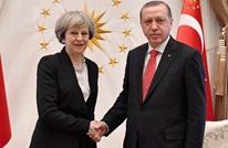 أردوغان وماي يبحثان العلاقات الاقتصادية والتجارية