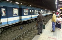 فتاة تقفز أمام مترو الأنفاق بمصر والنهاية ليس كما أرادت