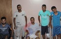 5 إخوة من غزة أصيبوا بمسيرات العودة يروون معاناتهم (شاهد)
