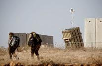 """""""عربي21"""" توثق محاولة """"القبة الحديدة"""" صد صواريخ غزة (شاهد)"""