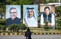 """عمران خان يبحث أزمة """"كشمير"""" مع أمير قطر والأخير يدعو للحوار"""