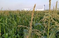 طائرة ركاب تصطدم بسرب من الطيور وتضطر للهبوط (شاهد)