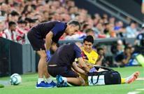 برشلونة يعلن رسميا إصابة سواريز