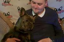 كلب يموت حزنا بعد دقائق من وفاة صاحبه