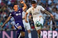 ريال مدريد يتعثر في البرنابيو أمام بلد الوليد (شاهد)