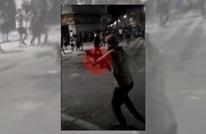 محتجون يطلقون النار على قوات الأمن الأردنية في الرمثا (شاهد)