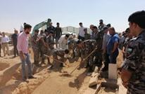 الدرك الأردني يتصدر جنازة سيدة عراقية والملك يعلق (شاهد)