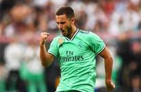 هازارد يسجل هدفه الأول مع ريال مدريد (شاهد)