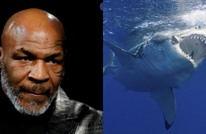 أسطورة الملاكمة تايسون يواجه أسماك القرش في أعماق المحيط