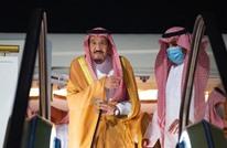 بعد أيام من مغادرة المستشفى.. الملك سلمان يصل نيوم