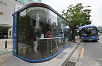 مواقف باصات مخصصة لمكافحة كورونا في كوريا الجنوبية (شاهد)