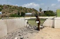 """الرياض: سقوط قذيفة لـ""""الحوثي"""" على قرية سعودية (صور)"""