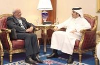 مباحثات بين وزير خارجية قطر وعريقات بشأن الوضع الفلسطيني