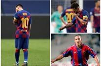 """رونالدو """"الظاهرة"""" يكشف عن إمكانية مغادرة ميسي لبرشلونة"""