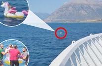 فيديو يوثق إنقاذ طفلة تائهة بالبحر بإحدى جزر اليونان