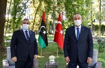 المشري يلتقي وزير خارجية تركيا بأنقرة بعد لقائه أردوغان