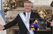 رئيس الأرجنتين يدعو ميسي إلى اللعب لهذا الفريق