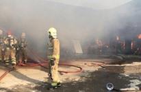 حرائق بمحطة كهرباء ومنطقة صناعية وقارب في إيران (شاهد)