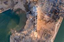 أقمار صناعية تكشف حجم حفرة انفجار بيروت (صور)