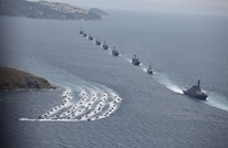 """صحيفة: سفن تركيا بـ""""المتوسط"""" بوضعية حرب وليس مناورات"""