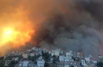 ارتفاع أعداد ضحايا الحرائق بالجزائر وبدء حداد وطني