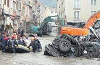 ارتفاع ضحايا فيضانات شمال تركيا لـ27.. أردوغان يتوجه للمنطقة