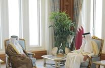 أمير قطر يبحث قضايا إقليمية مع وزير خارجية الكويت (شاهد)